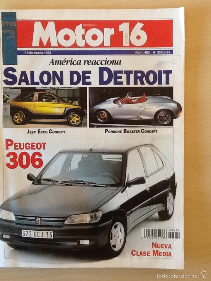 MOTOR 16 N 483 19 DE ENERO 1993 (Coches y Motocicletas Antiguas y Clásicas - Revistas de Coches)