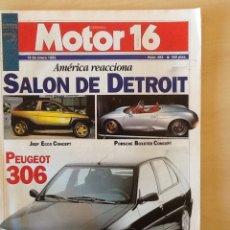 Coches: MOTOR 16 N 483 19 DE ENERO 1993. Lote 64360873