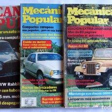 Coches: MECÁNICA POPULAR LOTE DE 3 REVISTAS: EDICIÓN CARIBE 1979/EDICIÓN CENTRO-AMÉRICA 1981 Y 83. Lote 65172771