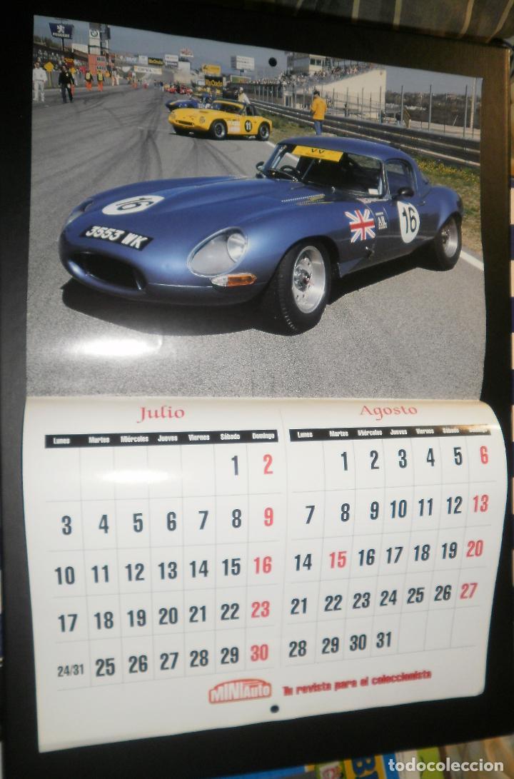 Coches: Revista Miniauto. Calendario de pared año 2000 - Foto 2 - 66053894