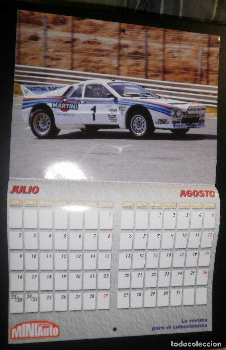 Coches: Revista Miniauto. Calendario de pared año 2001 - Foto 2 - 66053914