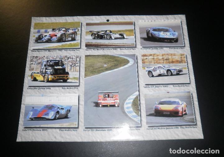 Coches: Revista Miniauto. Calendario de pared año 2001 - Foto 3 - 66053914