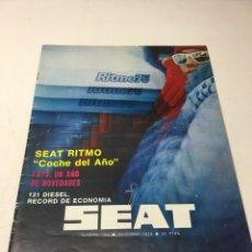 Coches: SEAT RITMO. REVISTA. Lote 66273619