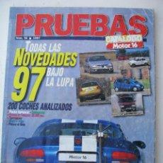 Coches: ESPECIAL PRUEBAS MOTOR 16 1997. Lote 66441670