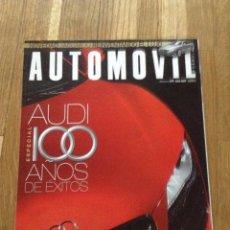 Coches: REVISTA AUTOMÓVIL FEBRERO AGOSTO 2009. Lote 146235561