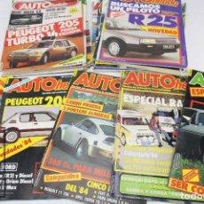 Coches: CONJUNTO DE REVISTAS DE AUTOMOVILISMO / COCHES - AUTO HEBDO - AÑOS 80. Lote 67123241