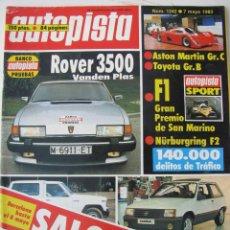Coches - REVISTA AUTOPISTA Nº 1242 - AÑO 1983 - FOTO SUMARIO - TOVER 3500 VANDEN PLAS - 67874317