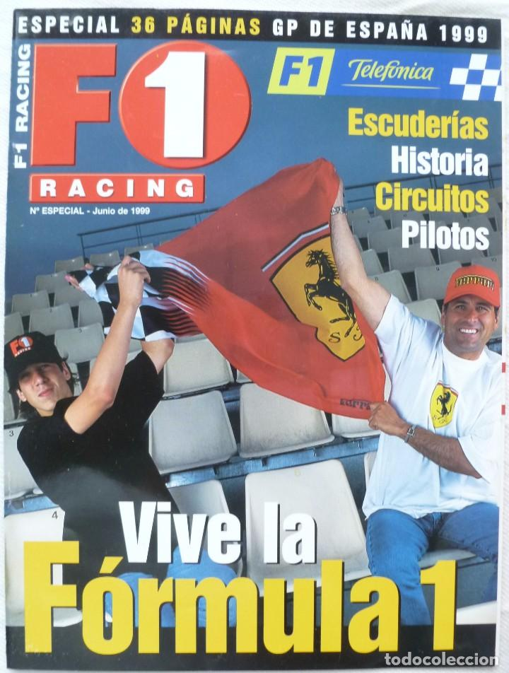Coches: Revista F1 Racing Nº Especial Junio 1999 - Foto 1 - 68084493