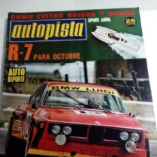 Coches: AUTOPISTA - Nº 809-1974-RIBOUD-. Lote 68490085