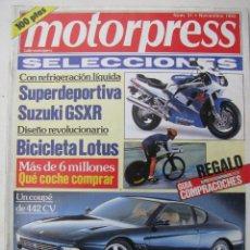 Coches: REVISTA MOTORPRESS Nº 31 - 1992 - FOTO SUMARIO -. Lote 69507137