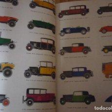 Coches: TOMOS I Y II . ENCUADERNADOS. ENCICLOPEDIA DEL AUTOMÓVIL. RAFAEL ESCAMILLA. PERFECTO ESTADO.. Lote 69579149