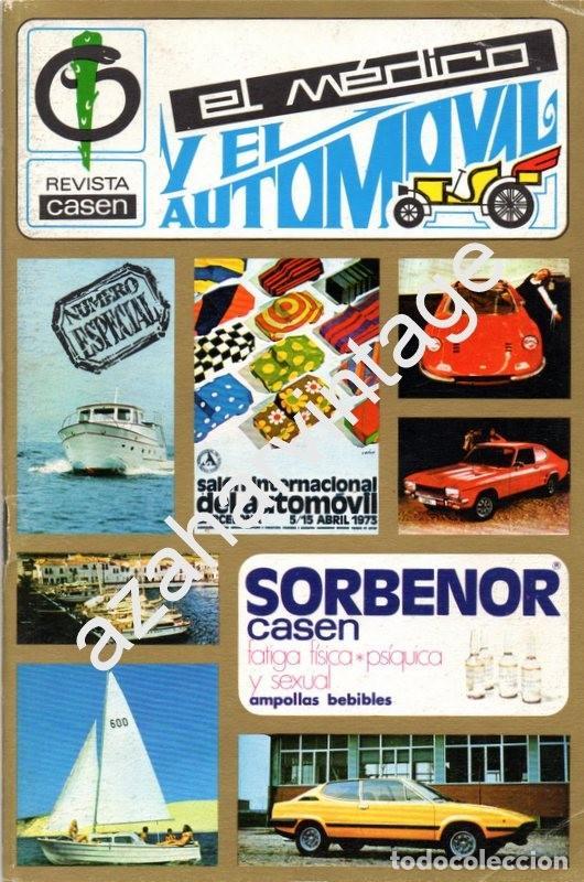 REVISTA DE 1969 Nº 2 EXTRA, EL MEDICO Y EL AUTOMOVIL (Coches y Motocicletas Antiguas y Clásicas - Revistas de Coches)