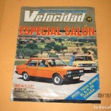 Coches: ANTIGUA REVISTA GRÁFICA DEL MOTOR * VELOCIDAD * Nº 711 ESPECIAL SALÓN DEL AÑO 1975. Lote 70207477