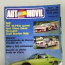Coches: AUTOMOVIL Nº35,POSTER,F1-1980,SEAT RITMO DIESEL,MUNDIAL DE MARCAS 1980,RALLY 2000 VIRAJES,RALLYES. Lote 71224735