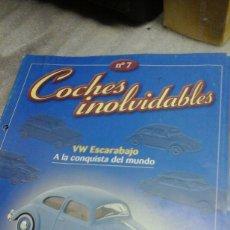 Coches: COCHES INOLVIDABLES 7. Lote 72225750