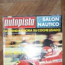 Coches: AUTOPISTA Nº 935 - 23 ENERO 1977. Lote 72309487