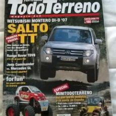 Coches: REVISTA TODO TERRENO FORMULA TT - Nº 79 NOVIEMBRE 2006 - MITSUBISHI MONTERO DI-D 07 SALTO. Lote 72343215