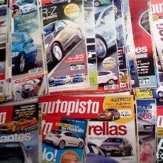 Coches: AUTOPISTA LOTE DE 49 REVISTAS DEL 2010 TODAS DIFERENTES. MUY BUEN ESTADO. Lote 72792439
