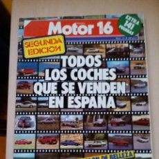 Coches: REVISTA MOTOR 16 Nº 57. Lote 73559867