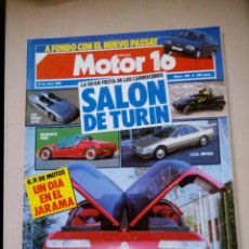 Coches: REVISTA MOTOR 16 Nº 236. Lote 73560451