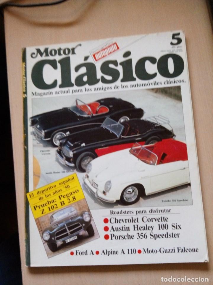 REVISTA MOTOR CLASICO Nº 5 (Coches y Motocicletas Antiguas y Clásicas - Revistas de Coches)