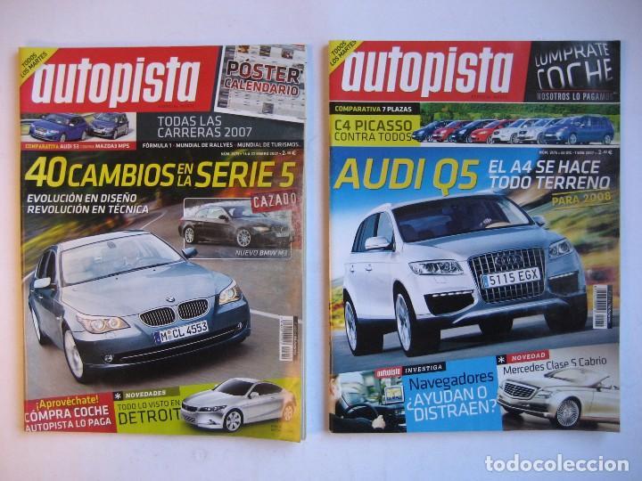 Coches: AUTOPISTA LOTE DE 41 NÚMEROS DEL AÑO 2007 VER FOTOGRAFÍAS - Foto 6 - 73792483