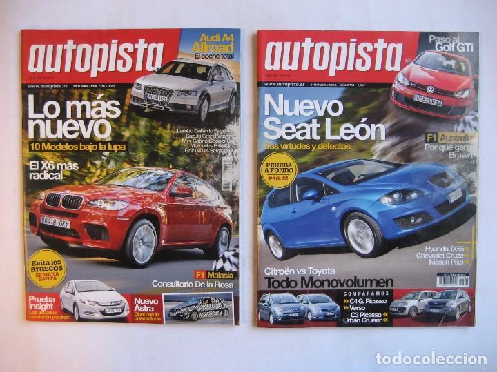 Coches: AUTOPISTA LOTE DE 52 NÚMEROS DEL AÑO 2009 VER FOTOGRAFÍAS - Foto 7 - 73793419