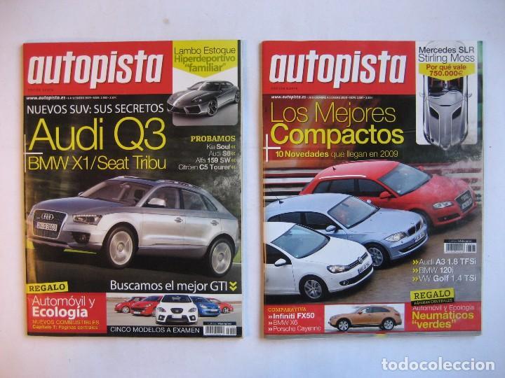 Coches: AUTOPISTA LOTE DE 52 NÚMEROS DEL AÑO 2009 VER FOTOGRAFÍAS - Foto 12 - 73793419