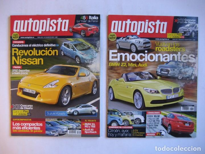 Coches: AUTOPISTA LOTE DE 52 NÚMEROS DEL AÑO 2009 VER FOTOGRAFÍAS - Foto 19 - 73793419