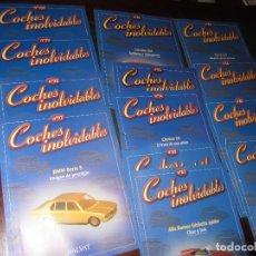 Coches: COCHES INOLVIDABLES SALVAT. Lote 139007580