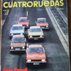 Coches: REVISTA CUATRORUEDAS DE JULIO 1974 FORD . Lote 75107571