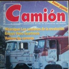 Coches: REVISTA CAMION N. 34 DE MAYO 1992 VOLVO . Lote 127183812