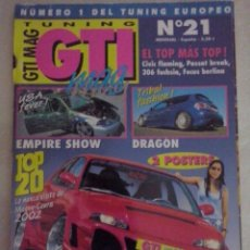 Coches: TUNING GTI MAG Nº 21. Lote 75799087