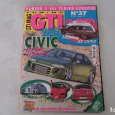 Coches: TUNING GTI MAG Nº 37. Lote 75799483