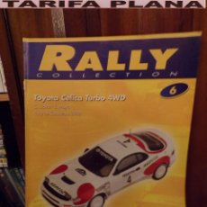 Coches: FASCICULO Nº06 TOYOTA CELICA TURBO 4WD RALYE CATALUNYA 1992 C. SAINZ - L.MOYA DE LA COLECCION RALLY. Lote 75846847