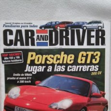 Coches: CAR AND DRIVER Nº 46, AÑO 1999. Lote 75966983