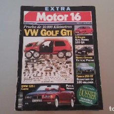 Coches: MOTOR 16 EXTRA Nº 477, AÑO 1992. Lote 75967903