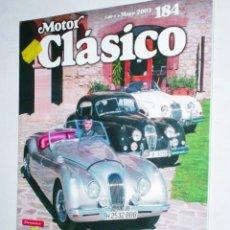 Coches: REVISTA MOTOR CLASICO Nº184 DE MAYO 2003 JAGUAR XK,SIMCA 1000 RALLYE,TALBOT 90,CHRYSLER 300M,MV,ETC. Lote 76526103