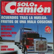 Coches: REVISTA SOLO CAMION N. 88 DE ABRIL 1997 CAMION IVECO EUROTRONIC G P CATALUÑA DE CAMIONES . Lote 76596703