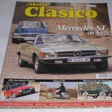Coches: REVISTA MOTOR CLASICO Nº196 DE MAYO 2004,MERCEDES SL,ALFA 1600 J ZAGATO,WINTON 6,OSSA S72,ETC. Lote 76854687