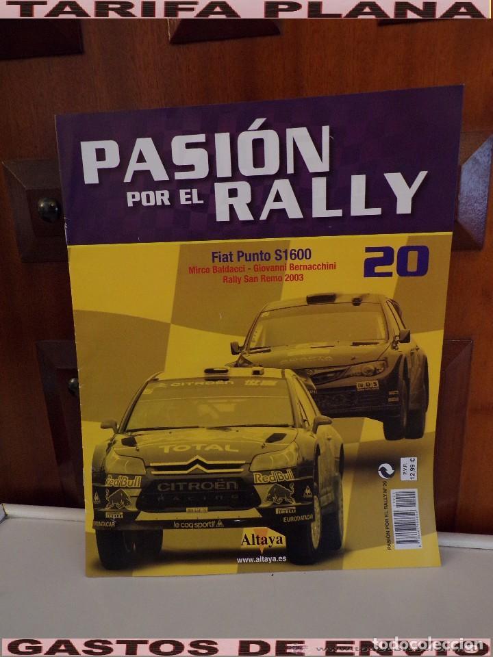 Fasciculo N20 Fiat Punto Rally San Remo 2003 M Comprar Revistas