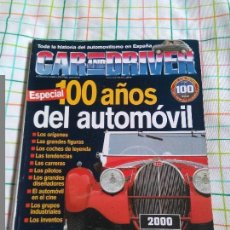 Coches: CAR AND DRIVER ESPECIAL 100 AÑOS AUTOMÓVIL. . Lote 78219825