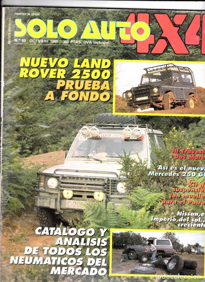 SOLO AUTO 4X4 Nº 69 OCTUBRE 1988 (Coches y Motocicletas Antiguas y Clásicas - Revistas de Coches)