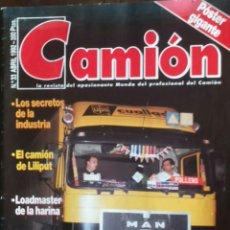 Coches: REVISTA CAMION N. 33 DE ABRIL 1992 CAMIONES BARREIROS . Lote 127183835