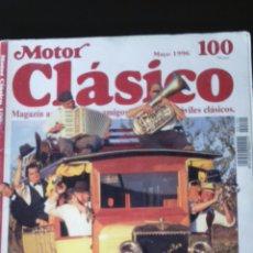 Coches: REVISTA MOTOR CLASICO N. 100 HISPANO SUIZA HARLEY DAVIDSON ALFA ROMEO . Lote 79612303