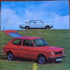 Coches: REVISTA AUTOMÓVIL SEAT N. 121 DE ABRIL 1977 SEAT 127 132. Lote 107850440