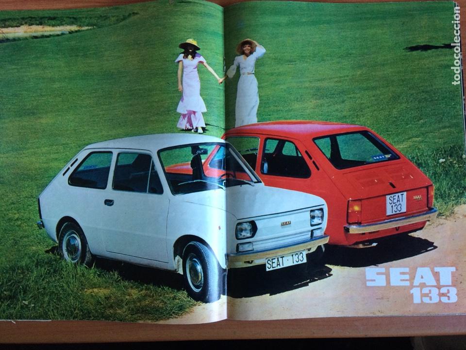 Coches: Revista automóvil Seat n. 88 de junio 1974 Seat 133 - Foto 3 - 80074354