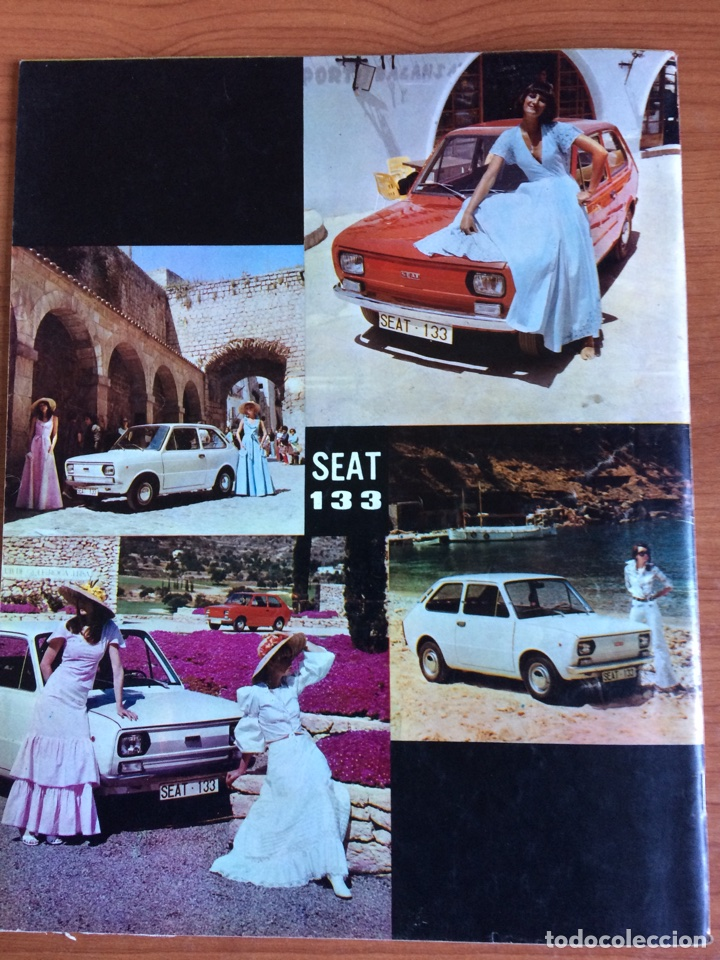 Coches: Revista automóvil Seat n. 88 de junio 1974 Seat 133 - Foto 4 - 80074354