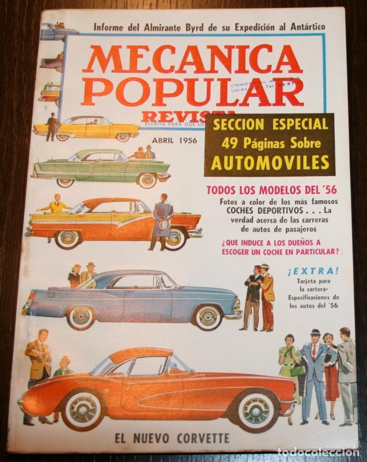 mecánica popular - abril 1956 - sección especia - Comprar Revistas ...