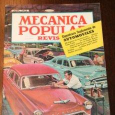 Coches: MECÁNICA POPULAR - ABRIL 1953 - SUPLEMENTO DE AUTOMÓVILES 48 PÁGINAS. Lote 80086793